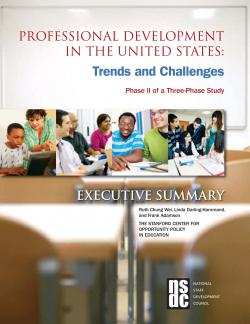 Professional Development in the United States: Trends and Challenges cover
